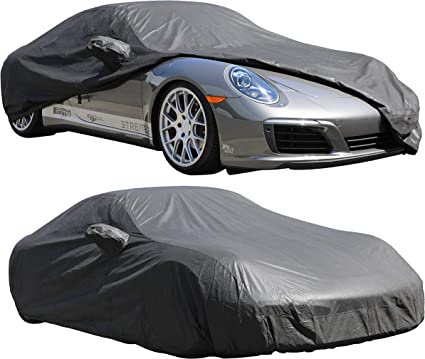 BLACK INDOOR SPORTS GARAGE CAR COVER NON SCRATCH PORSCHE 991 991.2 911 ALL