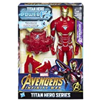 Hasbro Marvel Avengers Infinity War Iron Man Titan Hero Power FX (Personaggio 30cm, Action Figure), 30 cm, E0606103