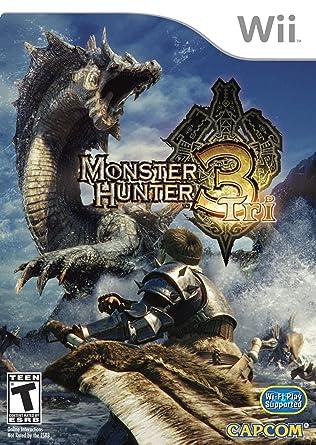 Amazon Com Monster Hunter Tri Standard Video Games