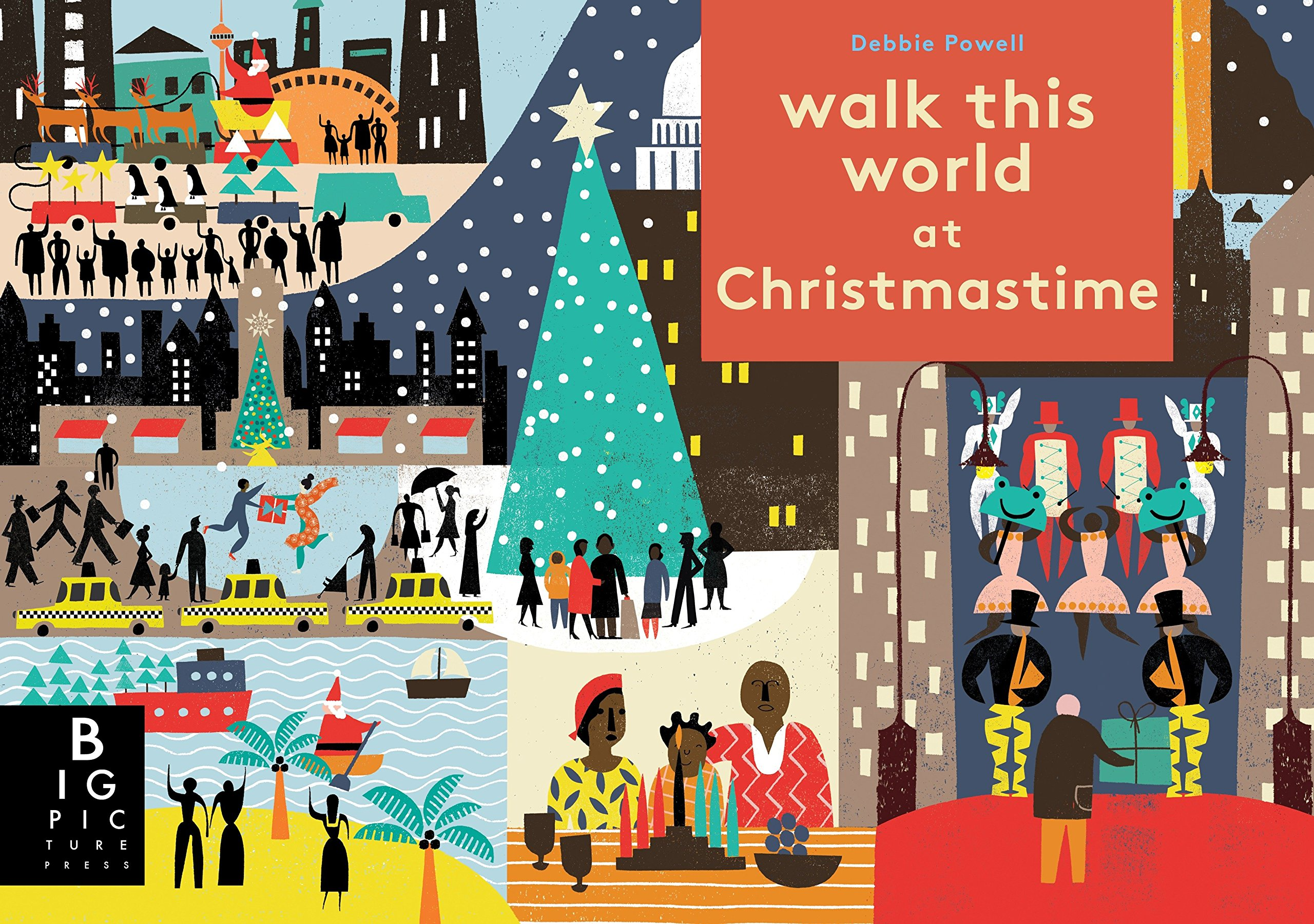 Walk this World at Christmastime book cover.