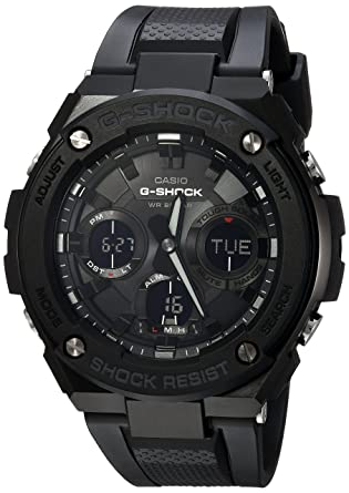 e5a05b88bd5 Amazon.com  Casio Men s  G Shock  Quartz Stainless Steel and Resin ...