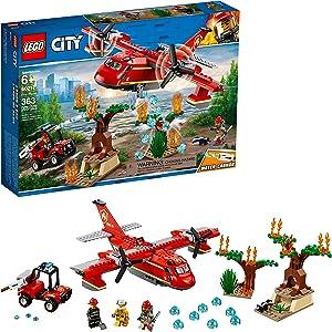LEGO City Fire Plane 60217 Building Kit (363 Pieces)