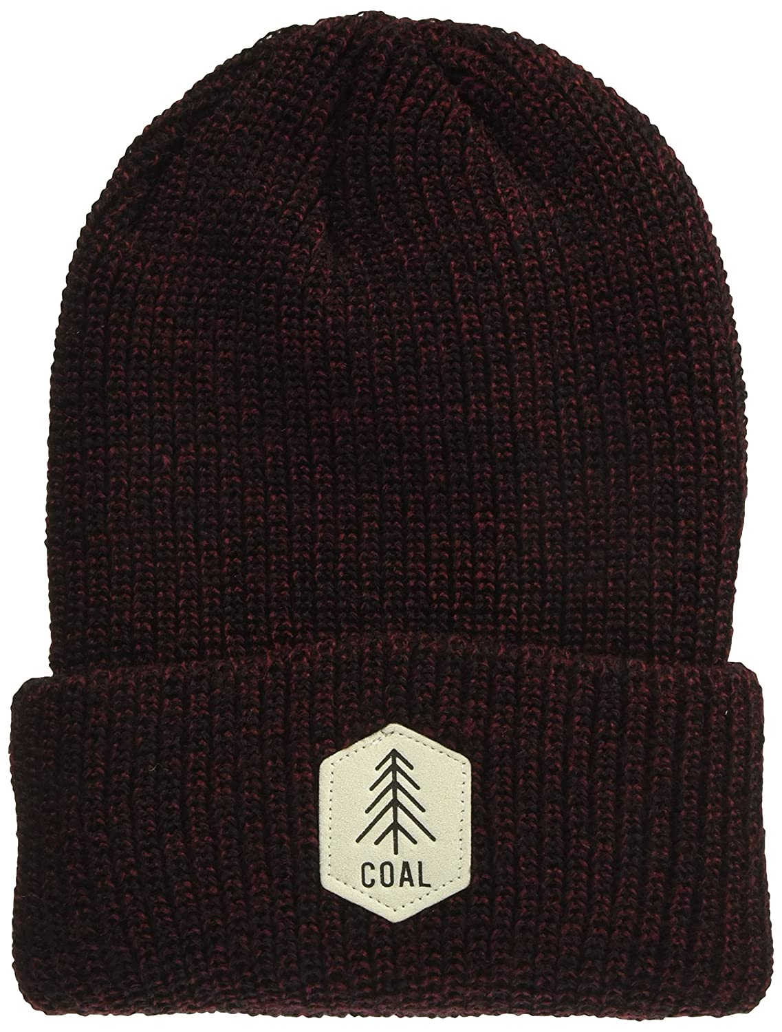 Coal Mens The Scout Classic Rib Knit Cuffed Beanie Hat Coal Young Men/'s 20580