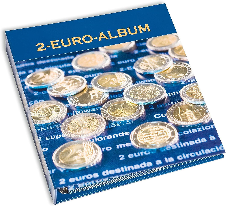 Leuchtturm de Numis álbum Volumen 5 de 2 euros monedas conmemorativas en 2015 todos los países del euro: Amazon.es: Juguetes y juegos