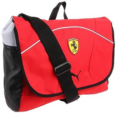 409bc0c5a3b Amazon.com  Puma Ferrari Replica PMAF1009 Messenger Bag,Red,One Size   Clothing