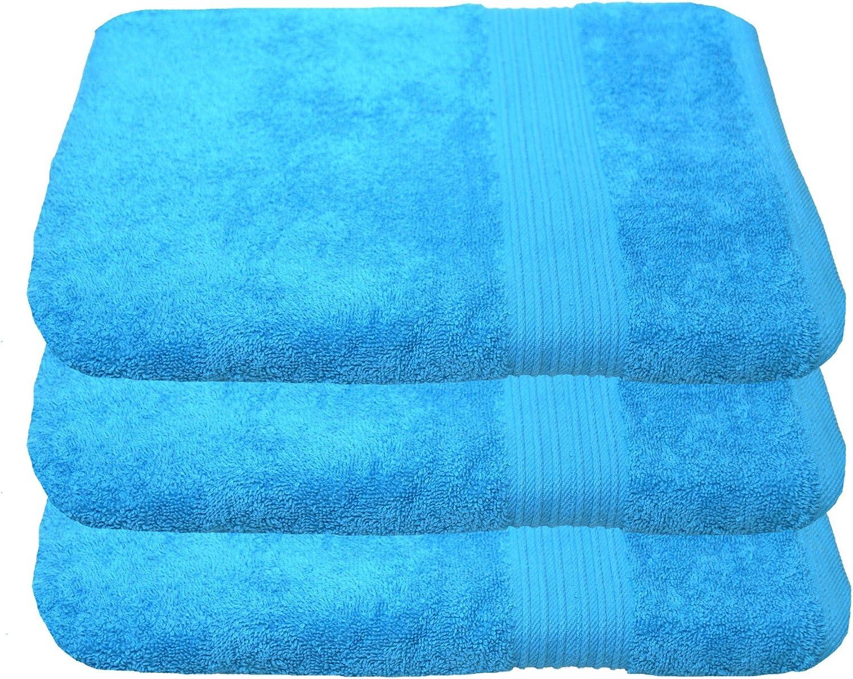 100 x 150 cm Julie julsen Lot de 2/serviette de bain 100/X 150/Cm Disponible en 23/Couleurs doux et absorbant 500/gsm certifi/é /Öko-Tex terracotta Coton