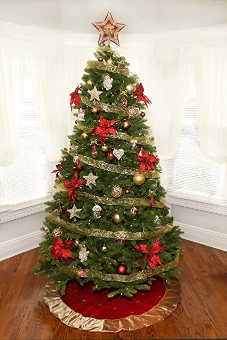 Amazon.com: Christmas Tree Decorating Kit - Traditional Theme: Home ...