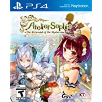 Atelier Sophie The Achemist of the Mysterious Book PS4