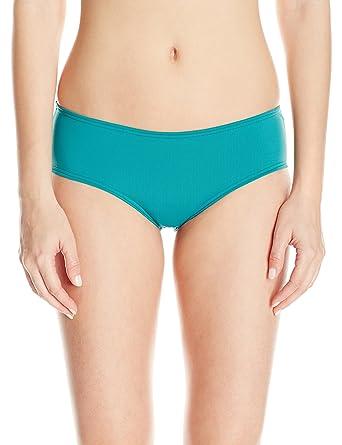 e2f5edce7 Amazon.com  O Neill Women s Salt Water Solids Boy Short Bikini Bottom   Clothing