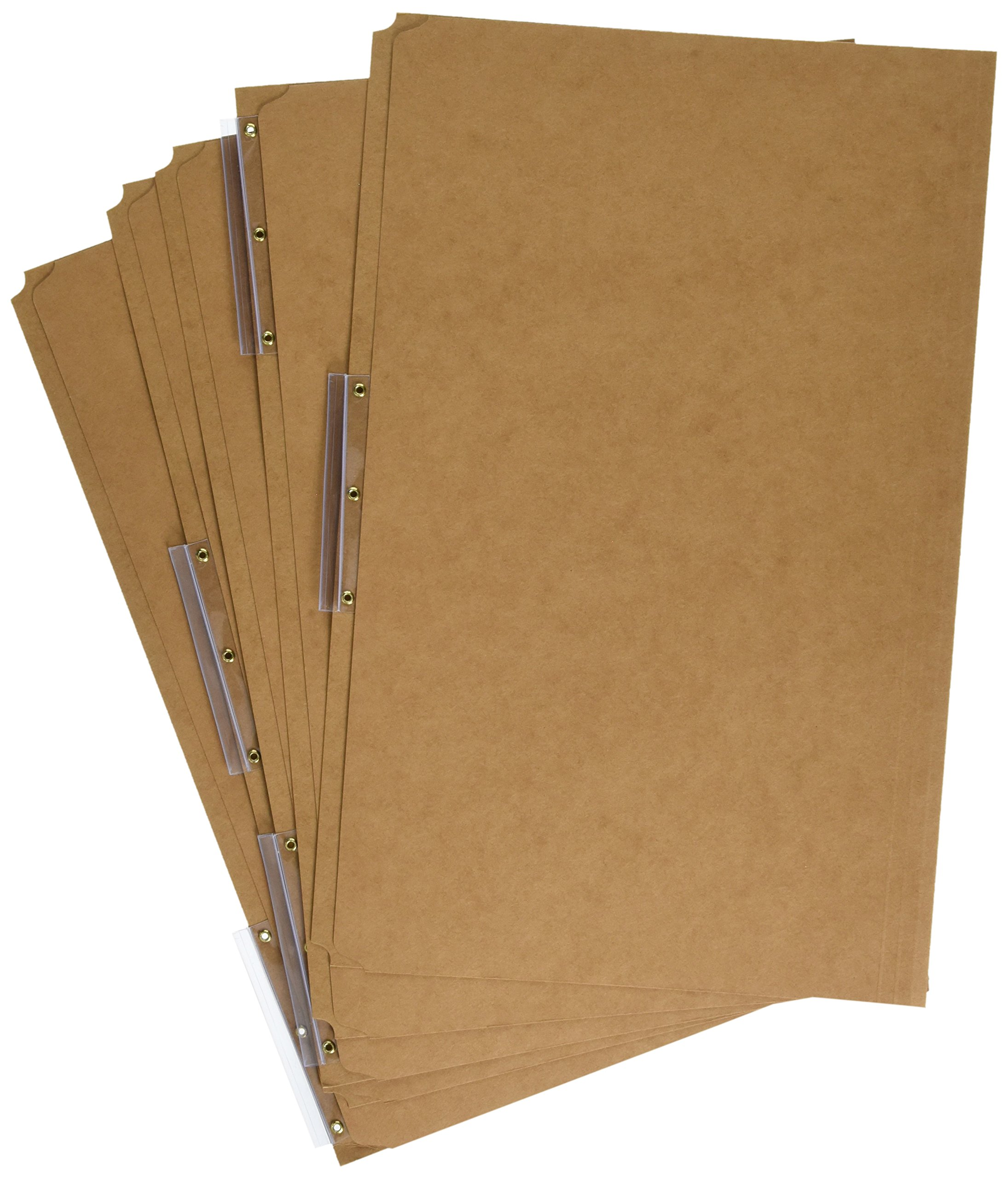 Pendaflex AC183-1/3 Pendaflex Kraft Angled Tab File Folders, 1/3 Cut, Top Tab, Legal, Brown, 50/Bx
