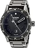 Nixon Men's 'Diplomat SS' Swiss Quartz Stainless Steel Watch, Color:Black (Model: A2771885)