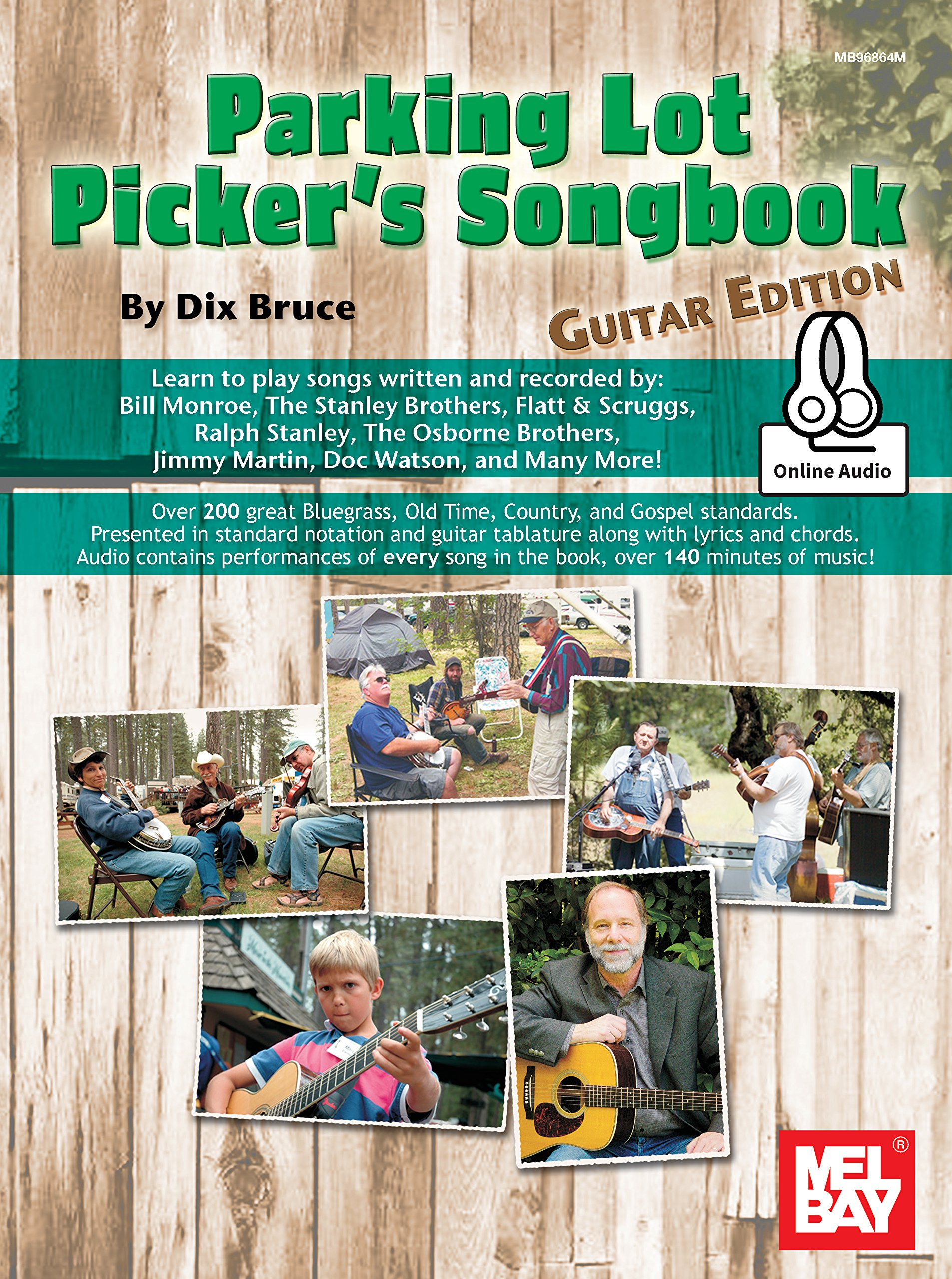 All-Time Favorite Parking Lot Pickers Guitar Solos Book//Audio SAME DAY DISPATCH