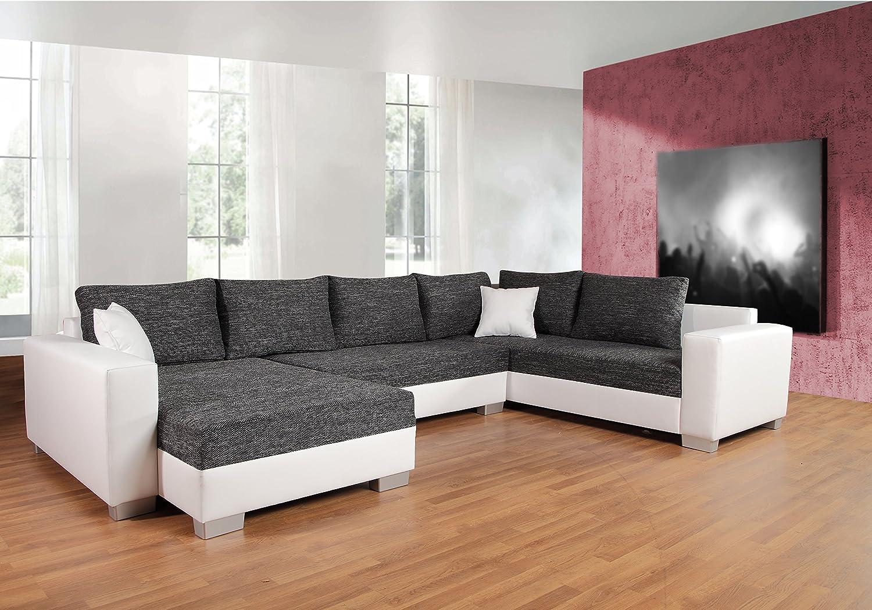 Sofa Couchgarnitur Couch Sofagarnitur Puebla Mit Schlaffunktion U