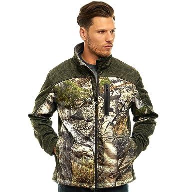 0b352f1f810db TrailCrest Men's Outdoor Waterproof Softshell Jacket, Mossy Oak Camo ...