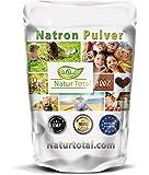 Natron Pulver - Natriumhydrogencarbonat NaHCO3 Natriumbicarbonat E500 Backsoda (1000g)