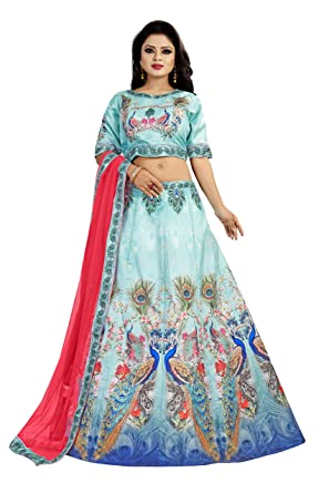 c211283943 Radhe Creation Semi-Stitched Sattin Silk Digital Printed party wear kurtis  for womens - LATEST