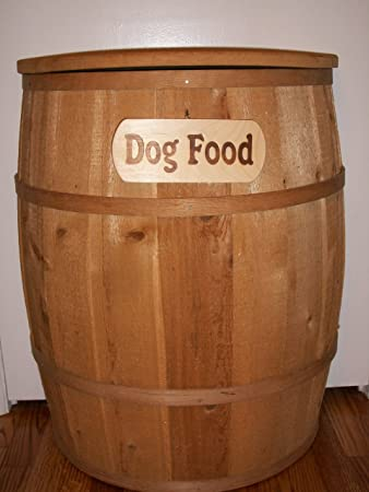 Dog Pet Food Container   Large