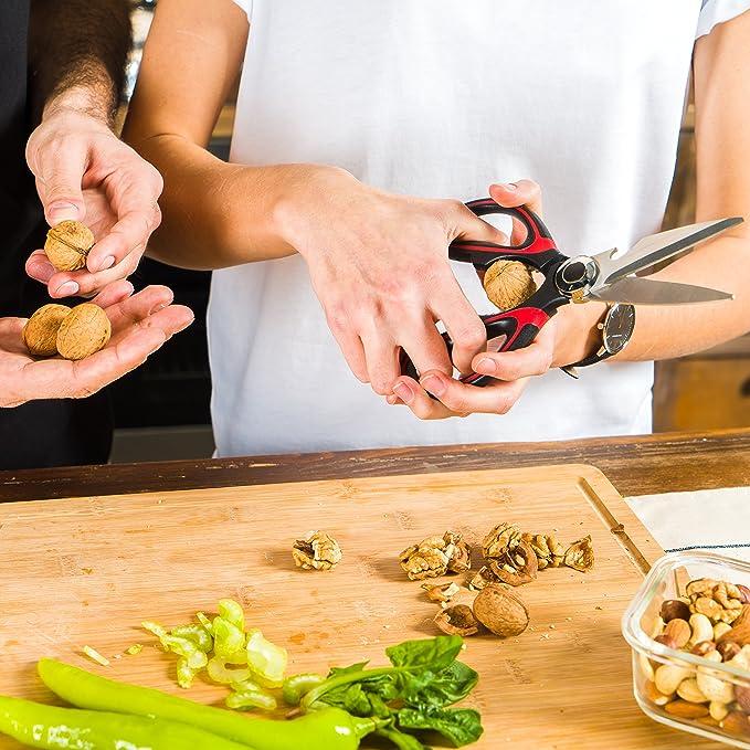 Amazon.com: MightySharp #1 - Tijeras de cocina resistentes ...