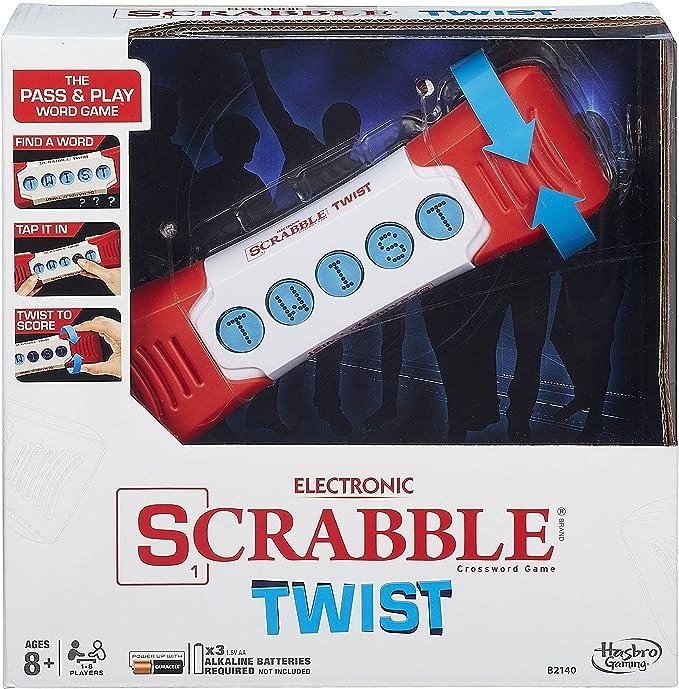 Amazon.com: Scrabble Twist Juego, Inglés: Toys & Games