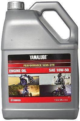 3.Yamalube Performance Semi-Synthetic 10W-50 1 Gallon