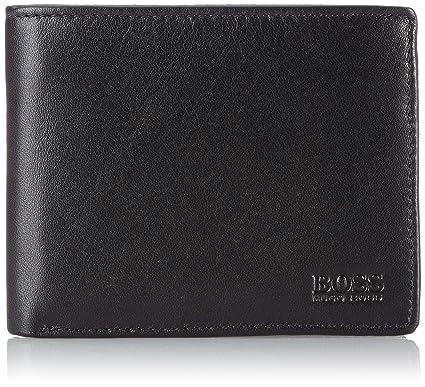 4b0d326ba Amazon.com: BOSS Hugo Boss Men's Asolo Wallet, Black, One Size: Clothing
