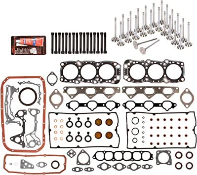 Intake Exhaust Valves Fit 91-99 Mitsubishi Dodge 3.0 6G72 6G72T 6G74