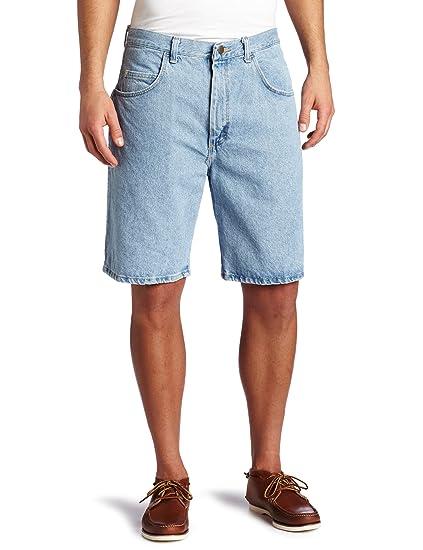 Wrangler Men S Rugged Wear Denim Short At Amazon Men S Clothing