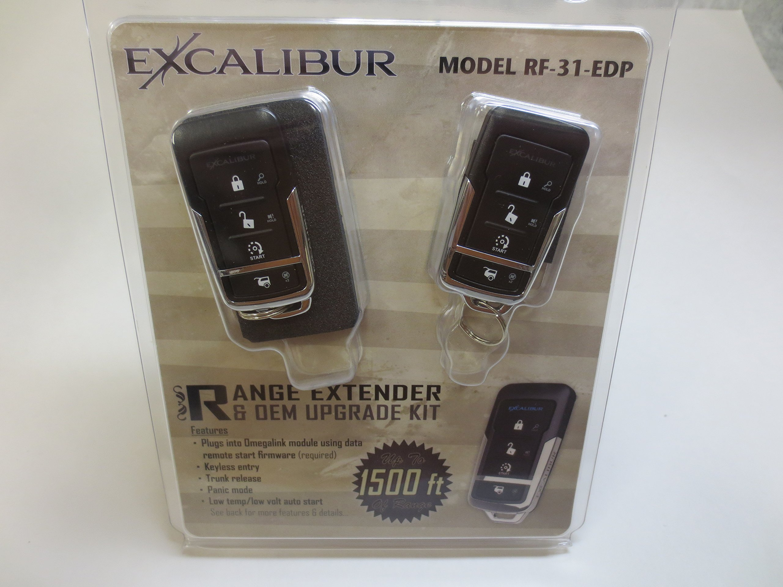 Lessco Excalibur RF-31-EDP for: Remote Start T Harness RS Series Extended Range RF Kit