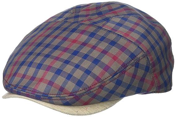 d28fe2d5863 Henschel Men s Cotton Plaid Ivy Hat with Solid Visor at Amazon Men s  Clothing store