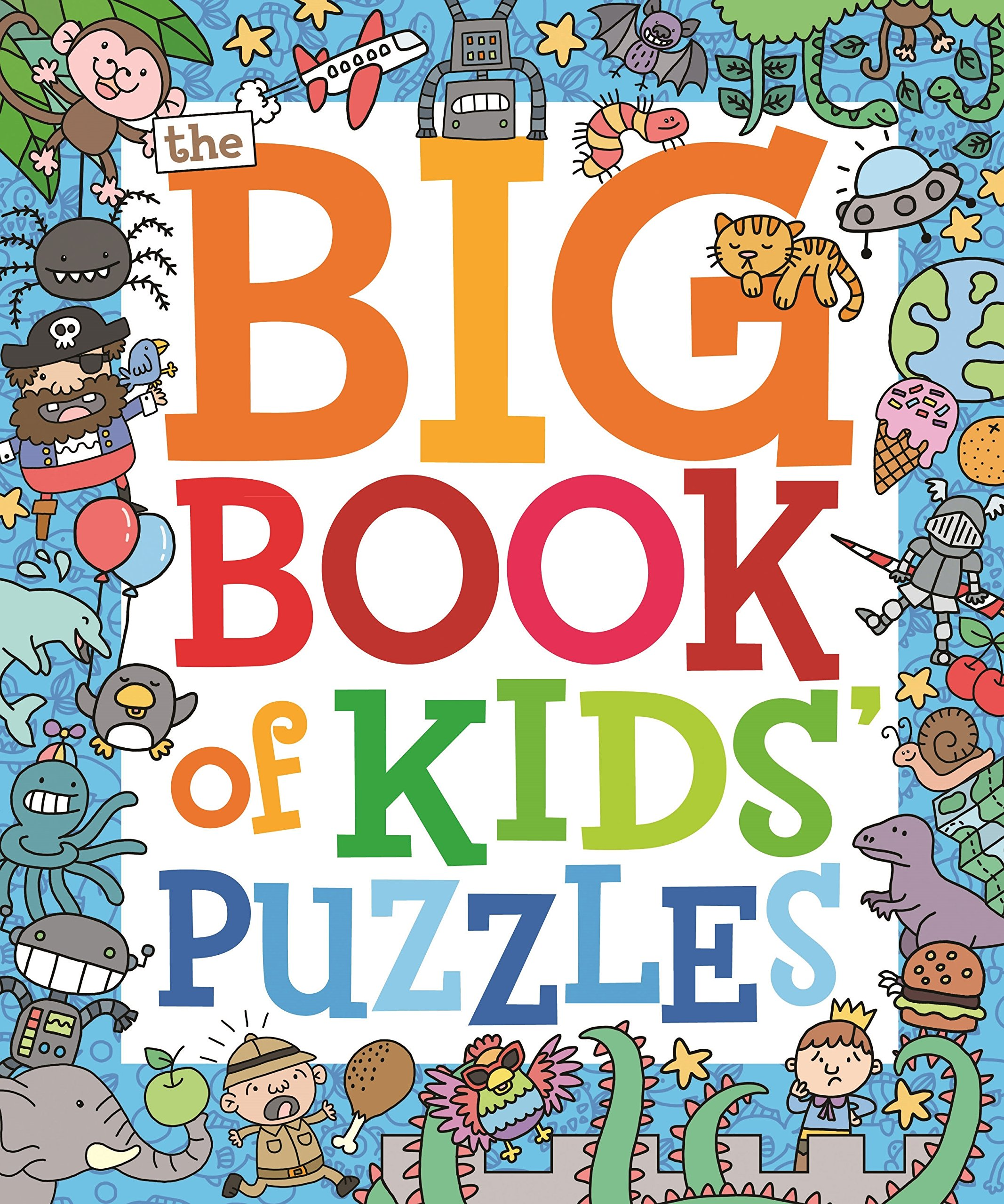 Download The Big Book of Kids Puzzles ebook