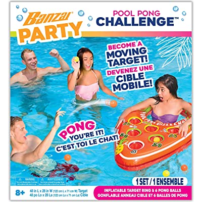Danawares Banzai Pool Party Pong Challenge Age/Grade 8+: Toys & Games