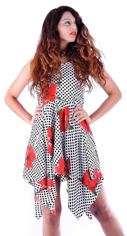1a4ade18a5e Sunrose Desinger Dot Printed Backless Tube Dress Tunic at Amazon Women s  Clothing store