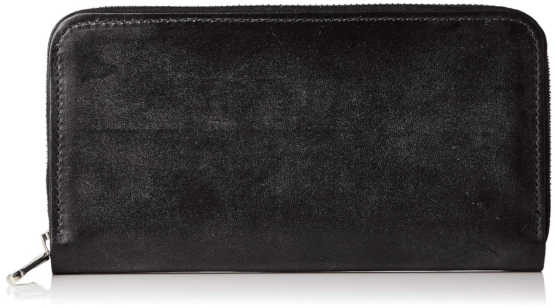 [ホワイトハウスコックス] 長財布 S2722 Long Zip Wallet 並行輸入品 S2722 [並行輸入品] B07JN4M5JF ブラック