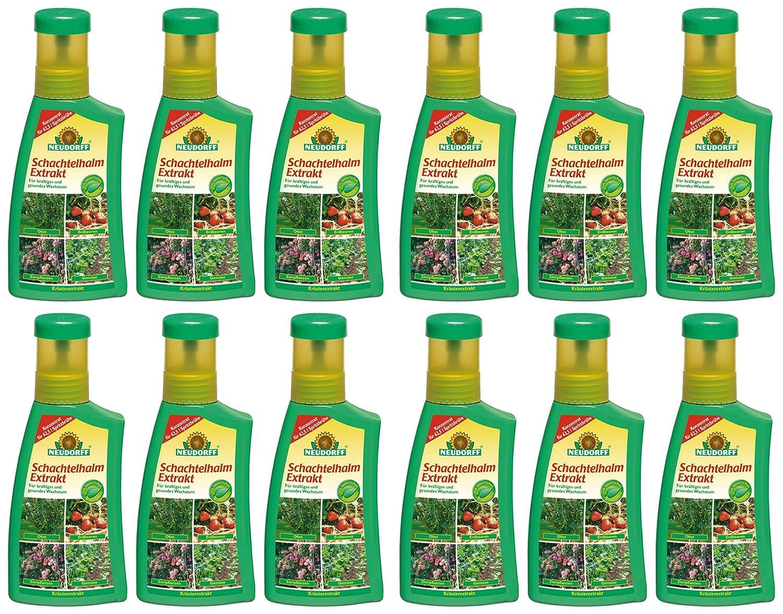 12 x 250 ml Neudorff Schachtelhalm Extrakt Pflanzenhilfsmittel