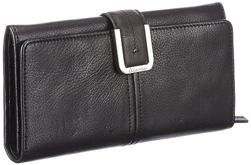 e6ee92b792 Calvin Klein ck Minimal Lux, Portafoglio donna, Nero (Schwarz (black ...