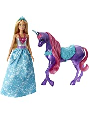 Barbie Dreamtopia Doll and Unicorn