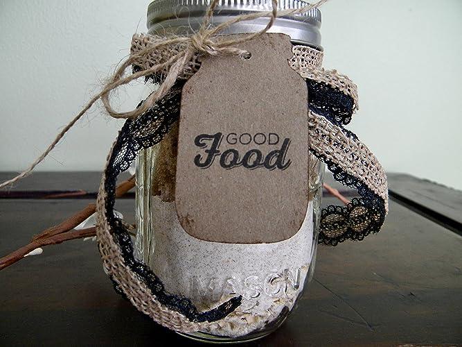 amazon com mason jar gift tags canning jar labels good food