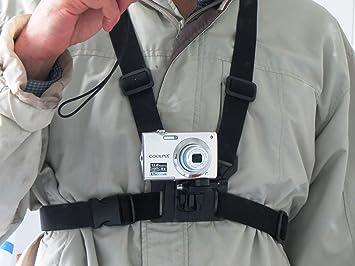 Pecho Designo arnés para cámaras digitales para Correa para usar ...