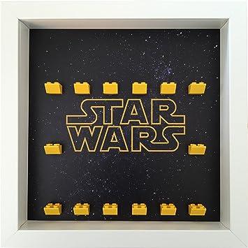 Frame Punk Star Wars Minifigure Display Frame (White).: Amazon.co.uk ...