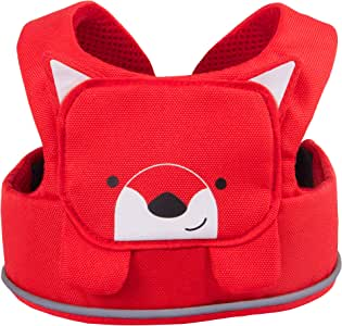 Trunki ToddlePak - Fuss Free Toddler Walking Reins & Kids Safety Harness – Felix Fox (Red)