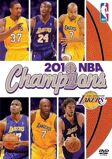 NBA Champions 2009-2010 Los Angeles Lakers Reino Unido DVD ...