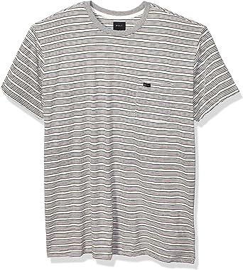 RVCA Mirage - Camiseta de punto a rayas para hombre: Amazon.es: Ropa y accesorios