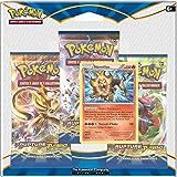 Pokémon  - 3PACK01XY09 - Pack 3 boosters  - XY09 - Rupture Turbo- modèle aléatoire