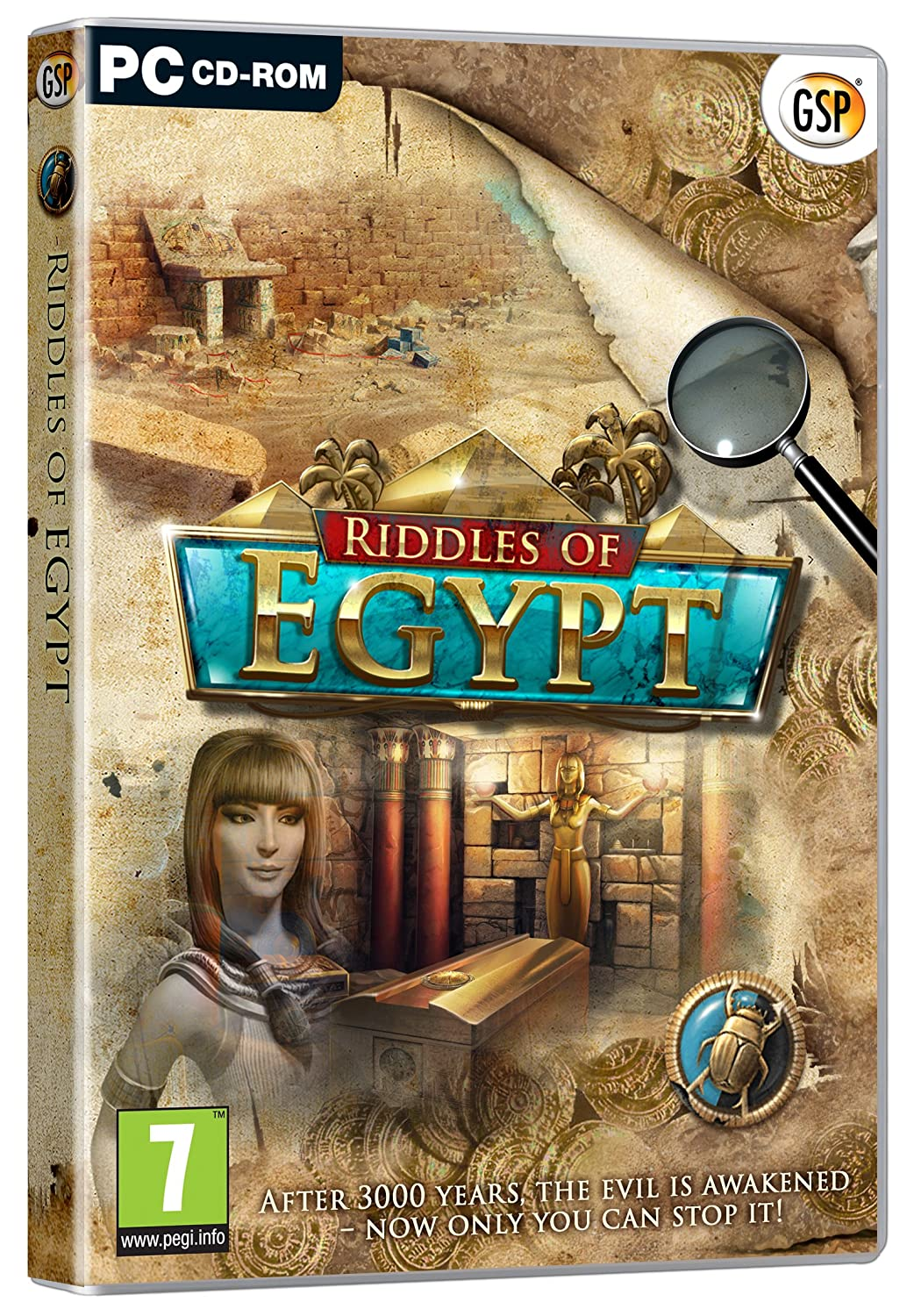 Amazon com: RIDDLES OF EGYPT Hidden Object PC Game NEW: Video Games