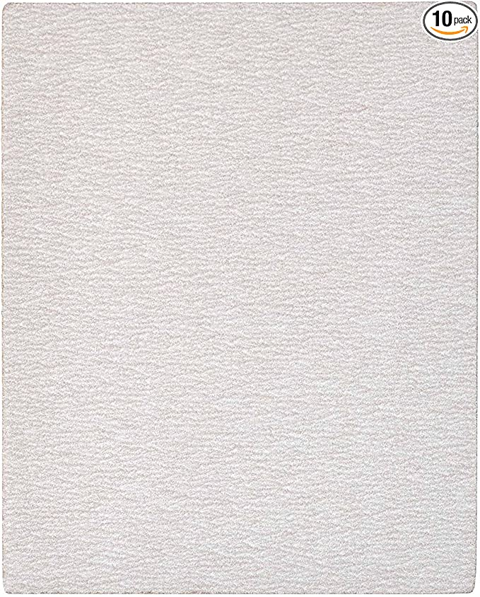 ALEKO 120 Grit Sandpaper Sheets 3.7 x 9 In 50 Pieces Grey Color