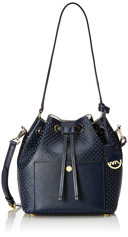2b4afb79a650 MICHAEL Michael Kors Greenwich Medium Bucket Bag Navy/Gold: Amazon.ca:  Shoes & Handbags