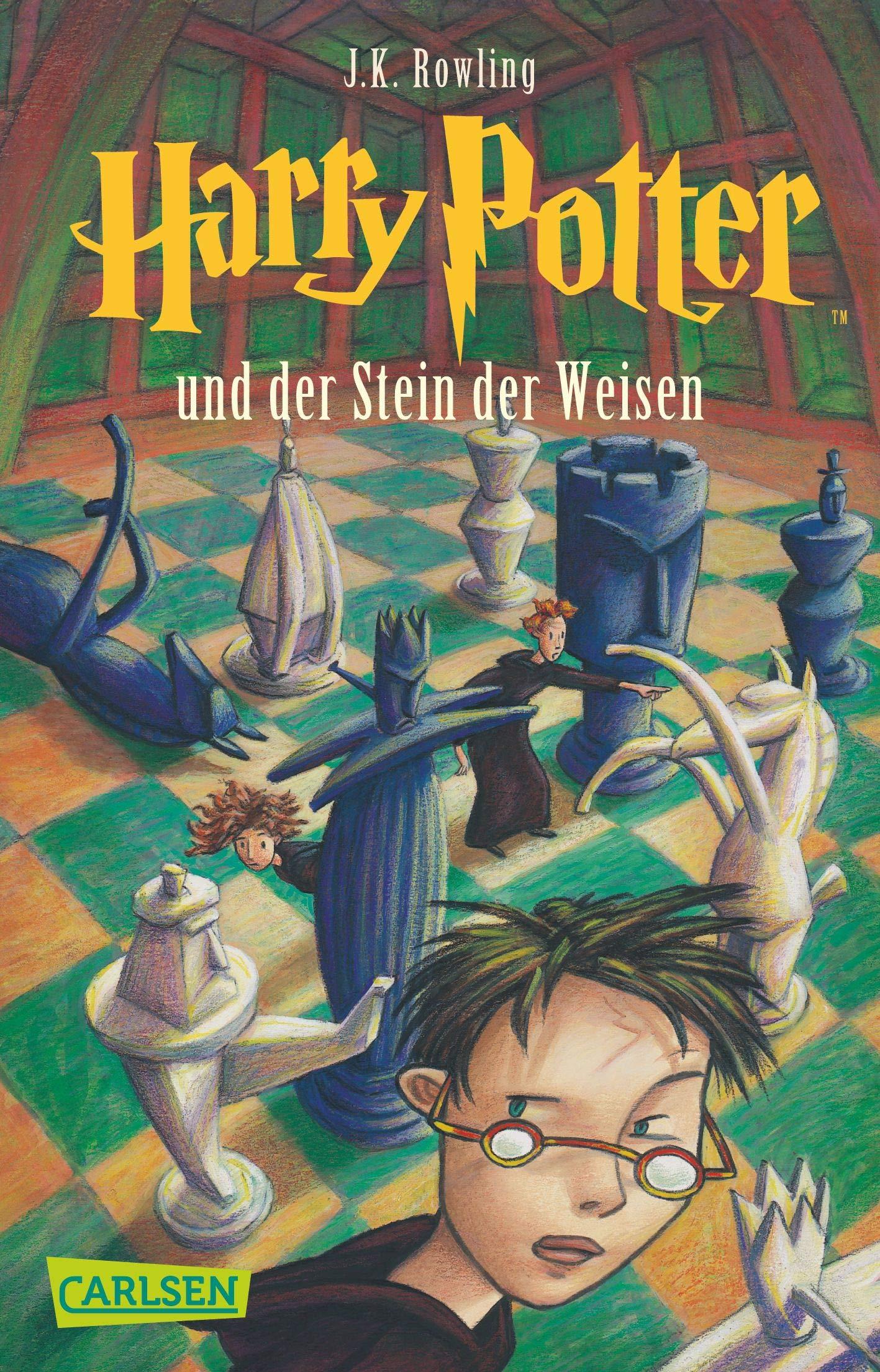 Harry Potter 1 und der Stein der Weisen: Amazon.es: Joanne K. Rowling,  Klaus Fritz: Libros en idiomas extranjeros