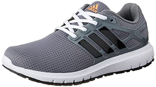 premium selection 9977d e8584 Adidas Womens Energy Cloud WTC W Grey, Cblack and Grey Running Shoes - 4 UK
