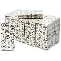 Wedding Theme Pocket Tissues, Travel Size Wipes (24 Pack)