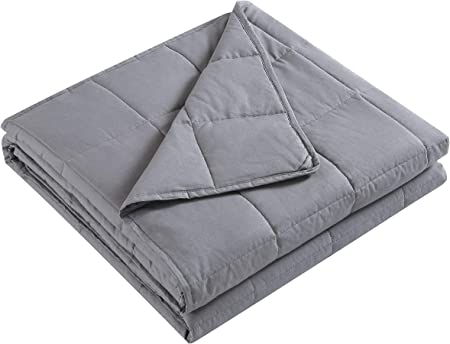 Extra Soft Heavy Blanket 41x60, Grey Loves cabin Weighted Blanket 10 lbs for Kids 100/% Organic Cotton Toddler Weighted Blanket with Glass Beads Anti-Dirty,Anti-mite,Incredible Touch
